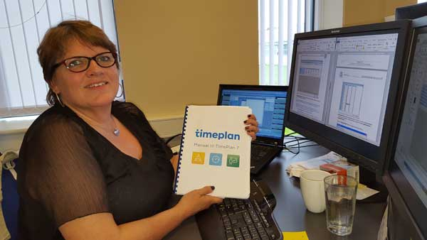10 years with Marianne at TimePlan Software