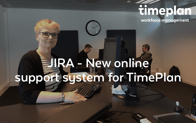 JIRA – New online support system for TimePlan