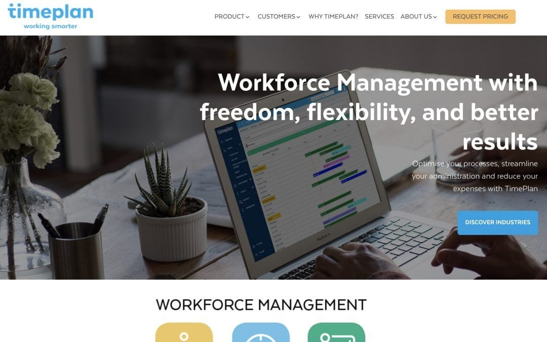 TimePlan Software launches new Workforce Management website